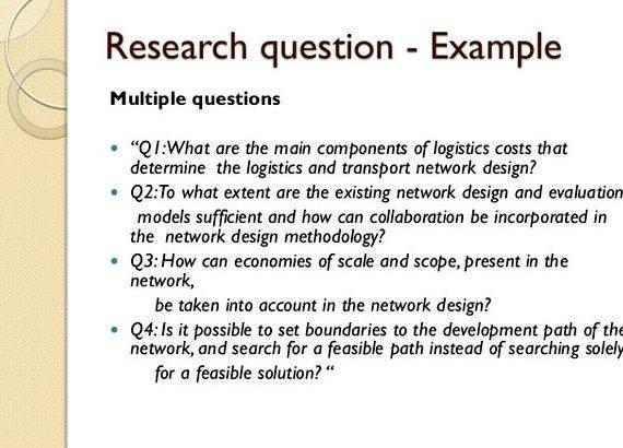 Writing quantitative research objectives for thesis