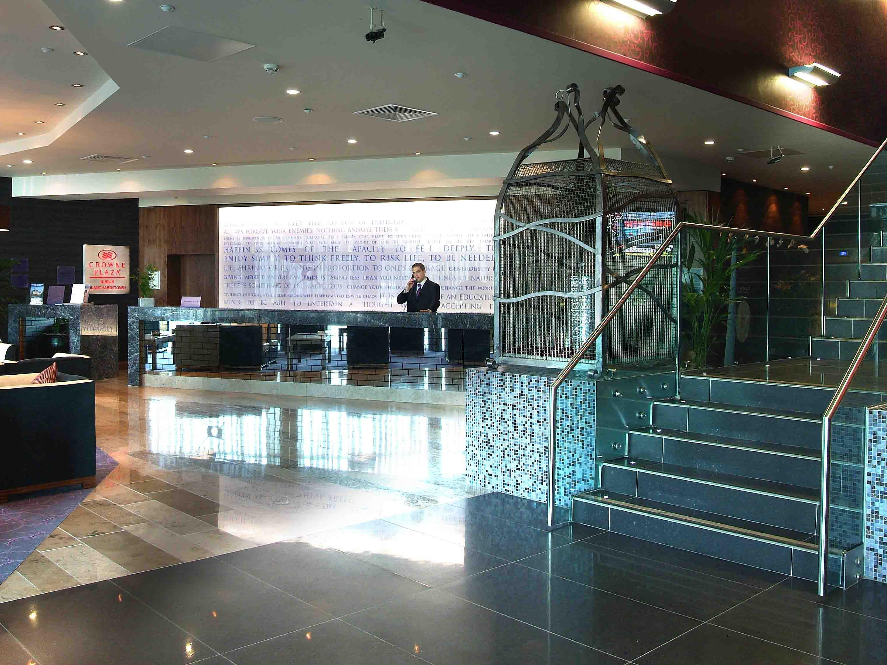 Zwembad Dublin Business Hotel Crowne Plaza Dublin Blanchardstown