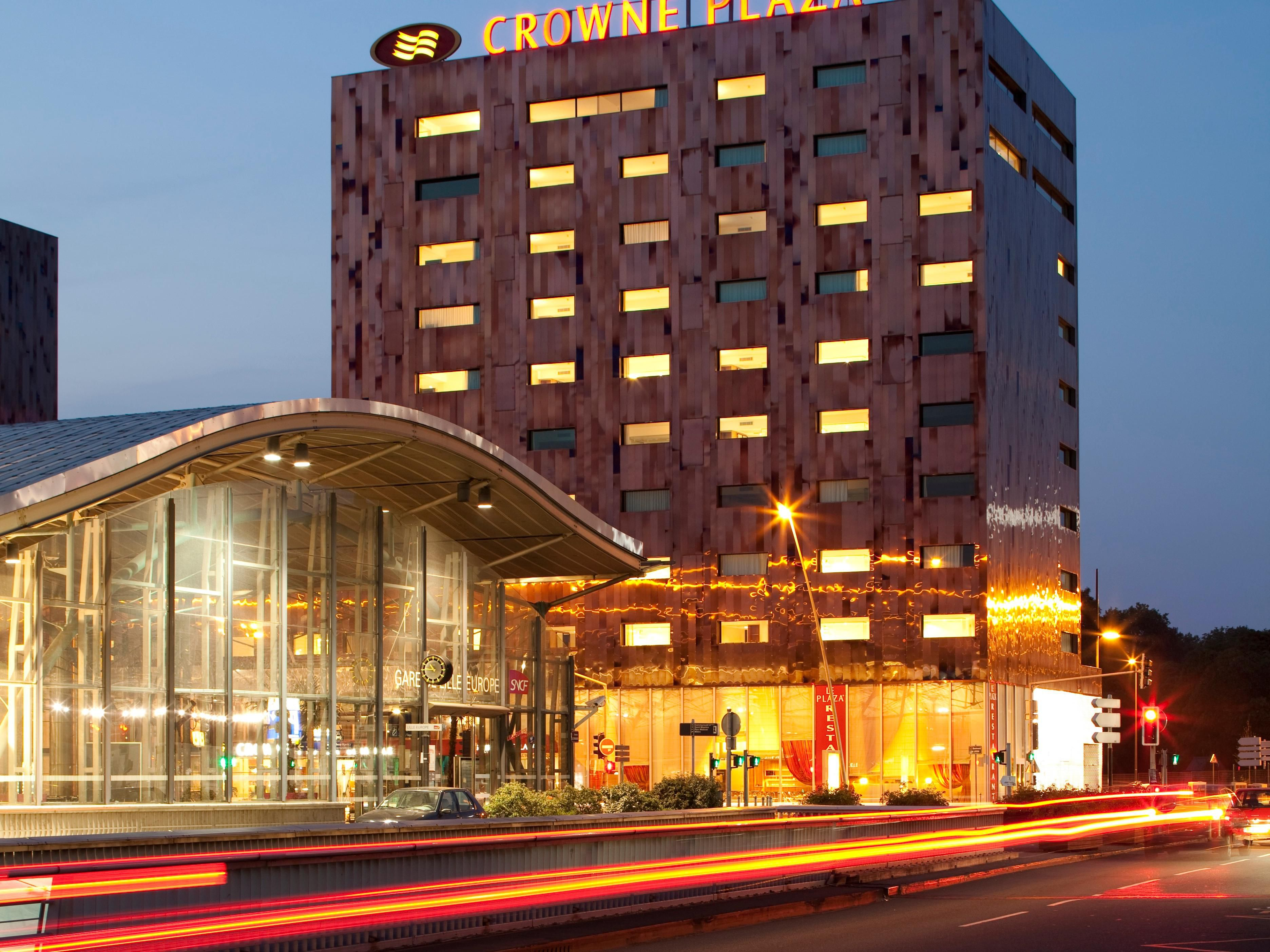 Parking Gare Lille Europe Tarif Business Hotel In Lille Crowne Plaza Lille Euralille