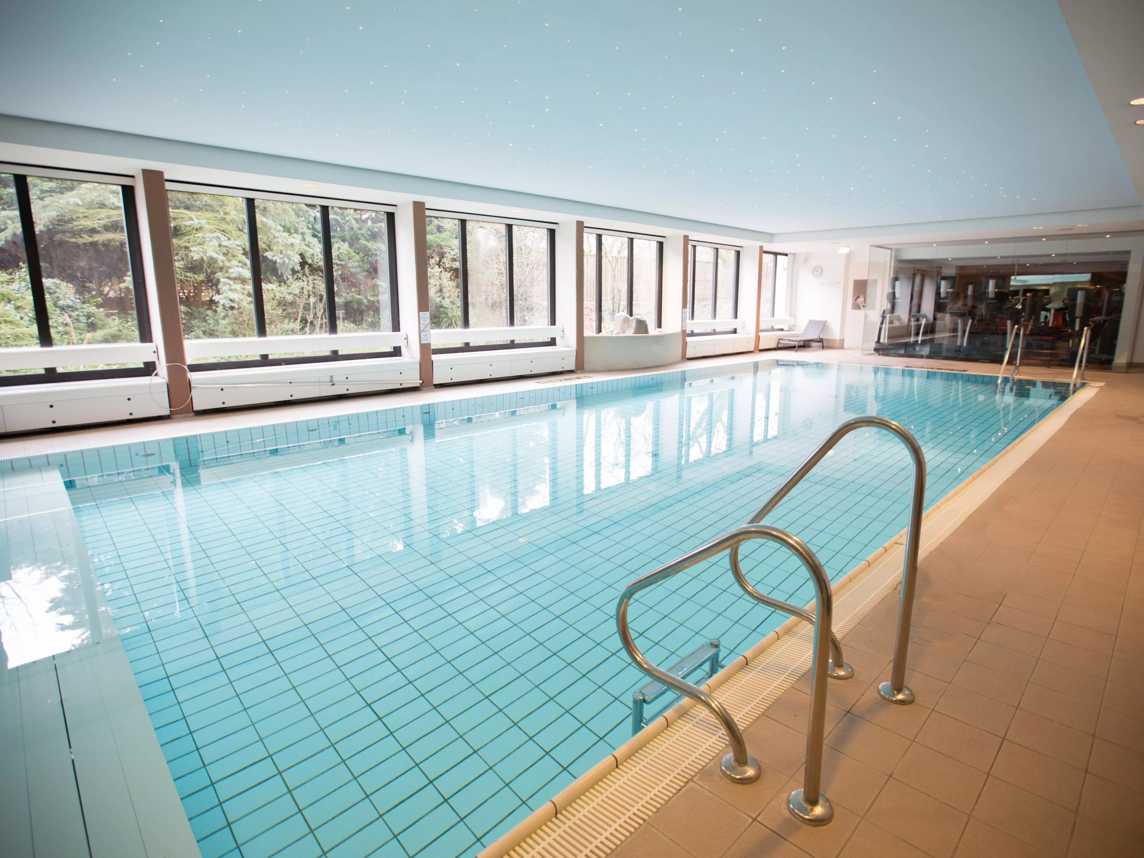 Swimming Pool Frankfurt Plaza Frankfurt Congress Hotel مرافق الصحة واللياقة