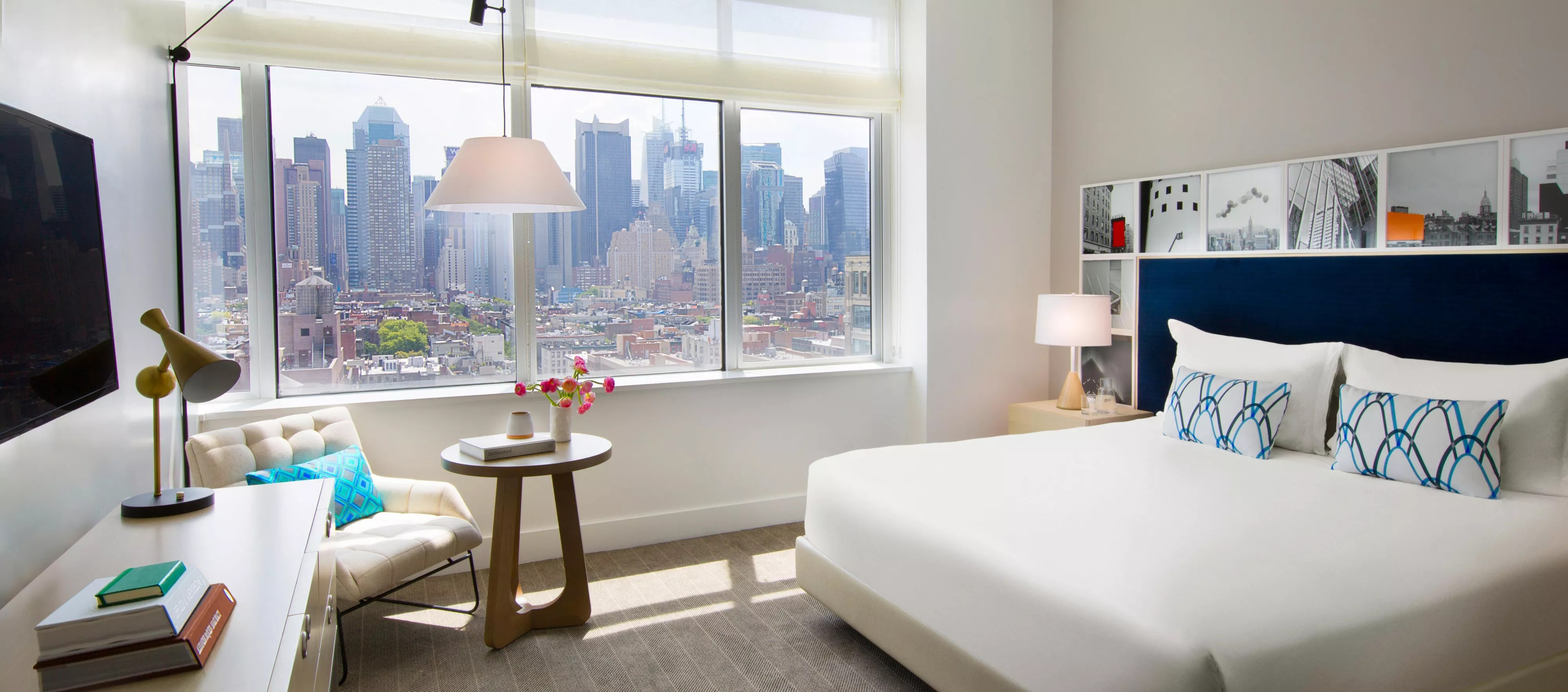 Cuisine Loft New Yorkais Kimpton Ink48 Hotel In New York Hell S Kitchen Kimpton Hotels