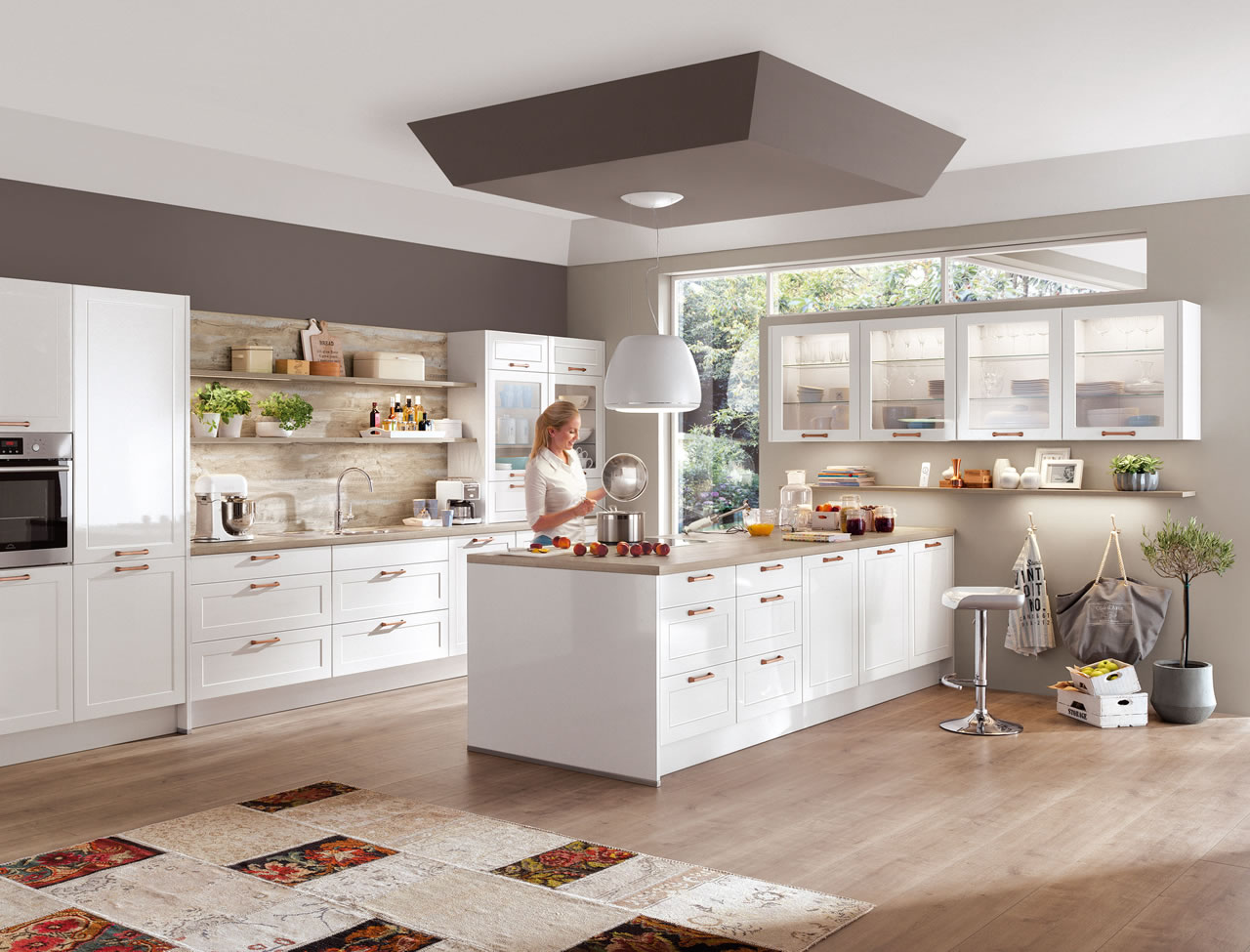Magnolia Farbe Küchenmöbel I Home Kitchens Nobilia Kitchens And German Kitchens