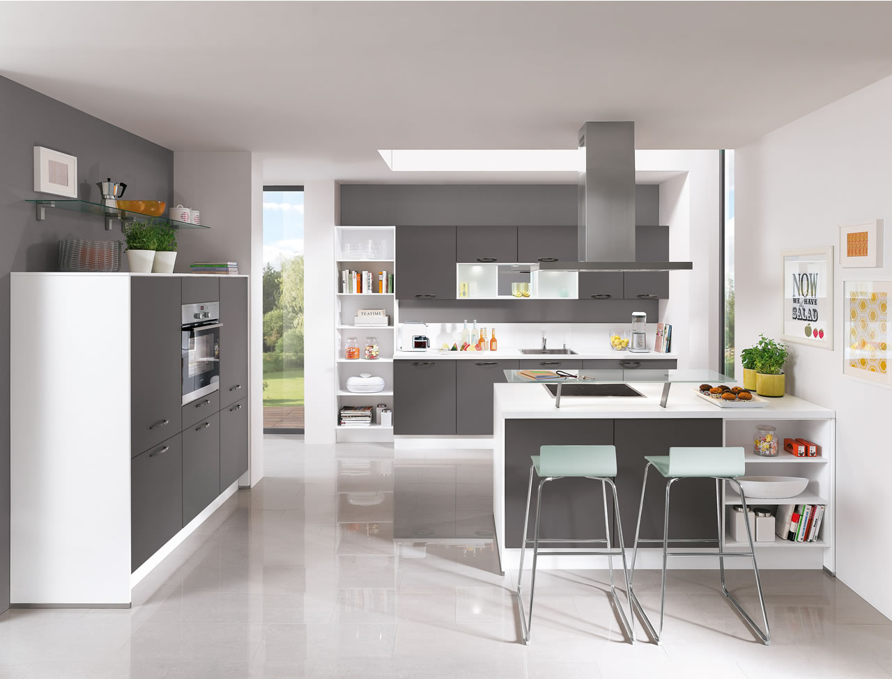 Nobilia Laser Grau I Home Kitchens Nobilia Kitchens And German Kitchens
