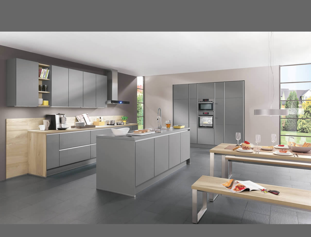 Nobilia Riva I Home Kitchens Nobilia Kitchens German Kitchens Line N