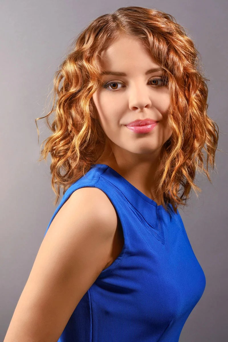 Frisuren Mit Long Bob Hellbrauner Long Bob Mit Locken - Bob Frisuren Mit Locken