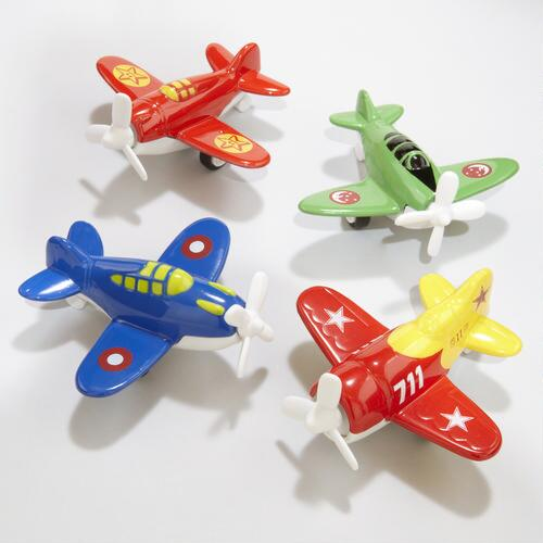 Mini Pull Back Planes Set Of 4 World Market