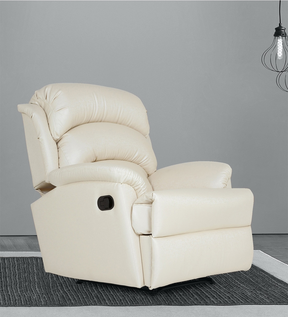 Https Www Pepperfry Com Alexandria One Seater Recliner In Ivory Colour By Casacraft 1366743 Html