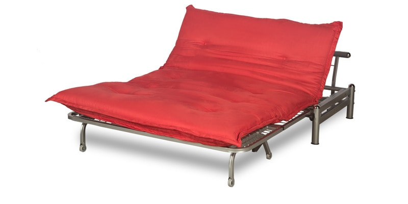 Interio Sofa Bed Buy Brussels Sofa Cum Bed In Red Finish By Godrej Interio