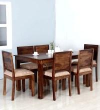 Buy Oakville Six Seater Dining Set in Provincial Teak ...