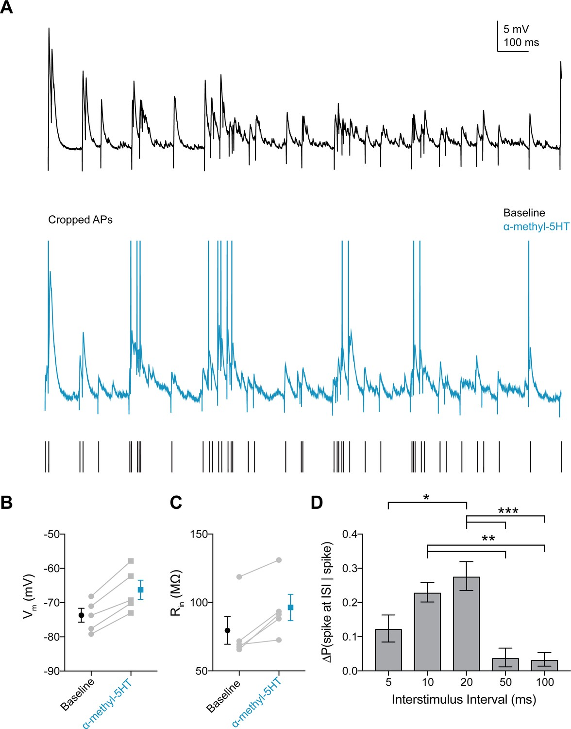 Fitting Lamp Gamma Serotonin Enhances Excitability And Gamma Frequency Temporal