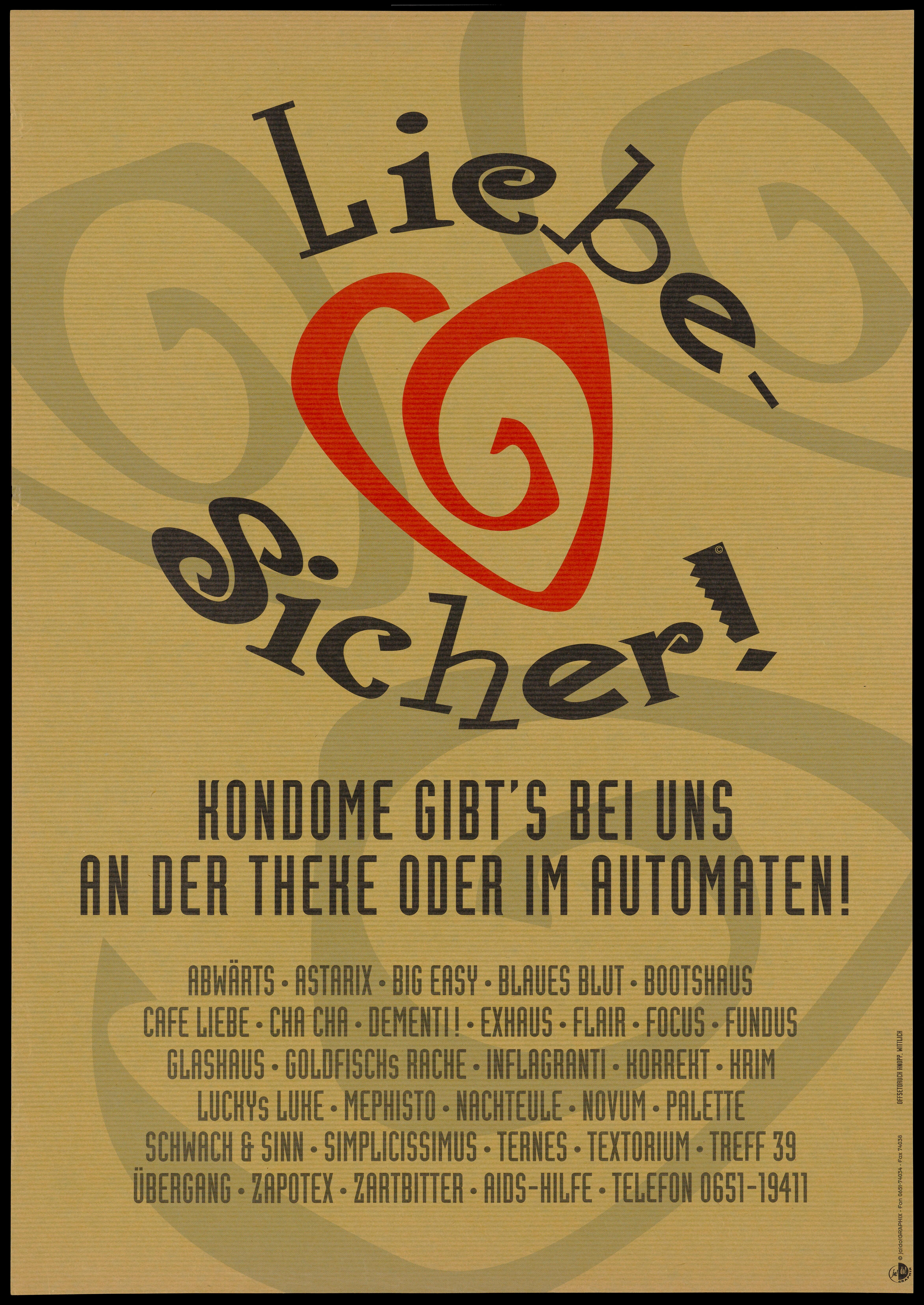 Sicher Safe The Words
