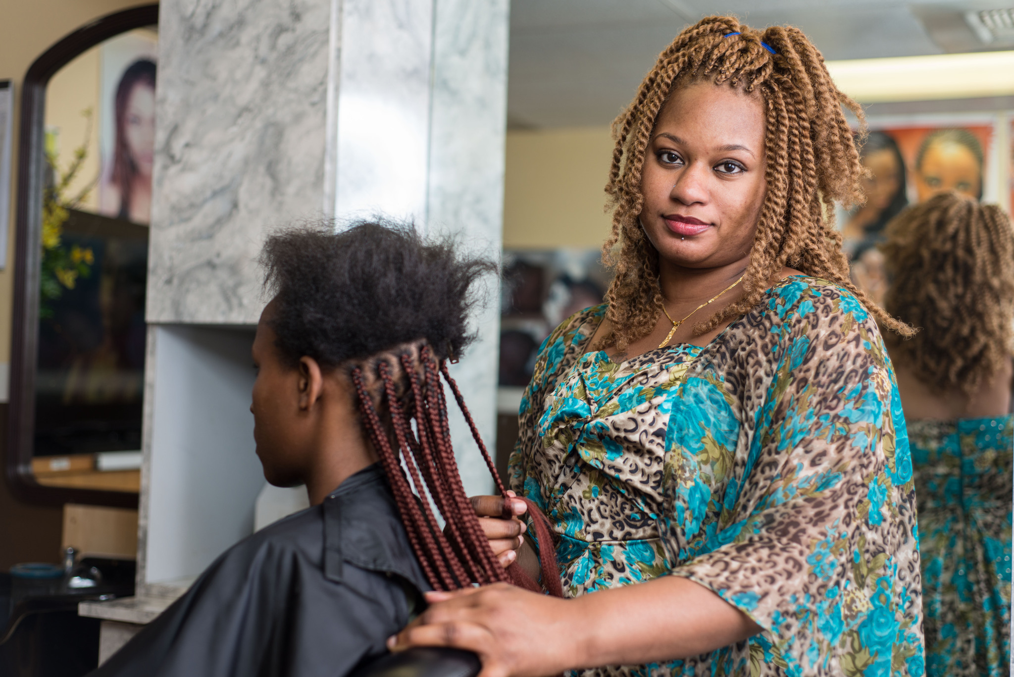 Africain Salon Washington Hair Braiding Institute For Justice