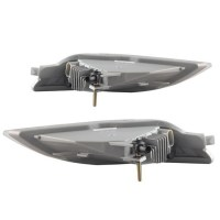 06-10 Toyota Sienna Clear Lens Aftermarket LED Fog Lamps