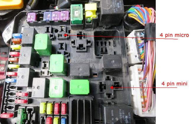 car fuse box acc