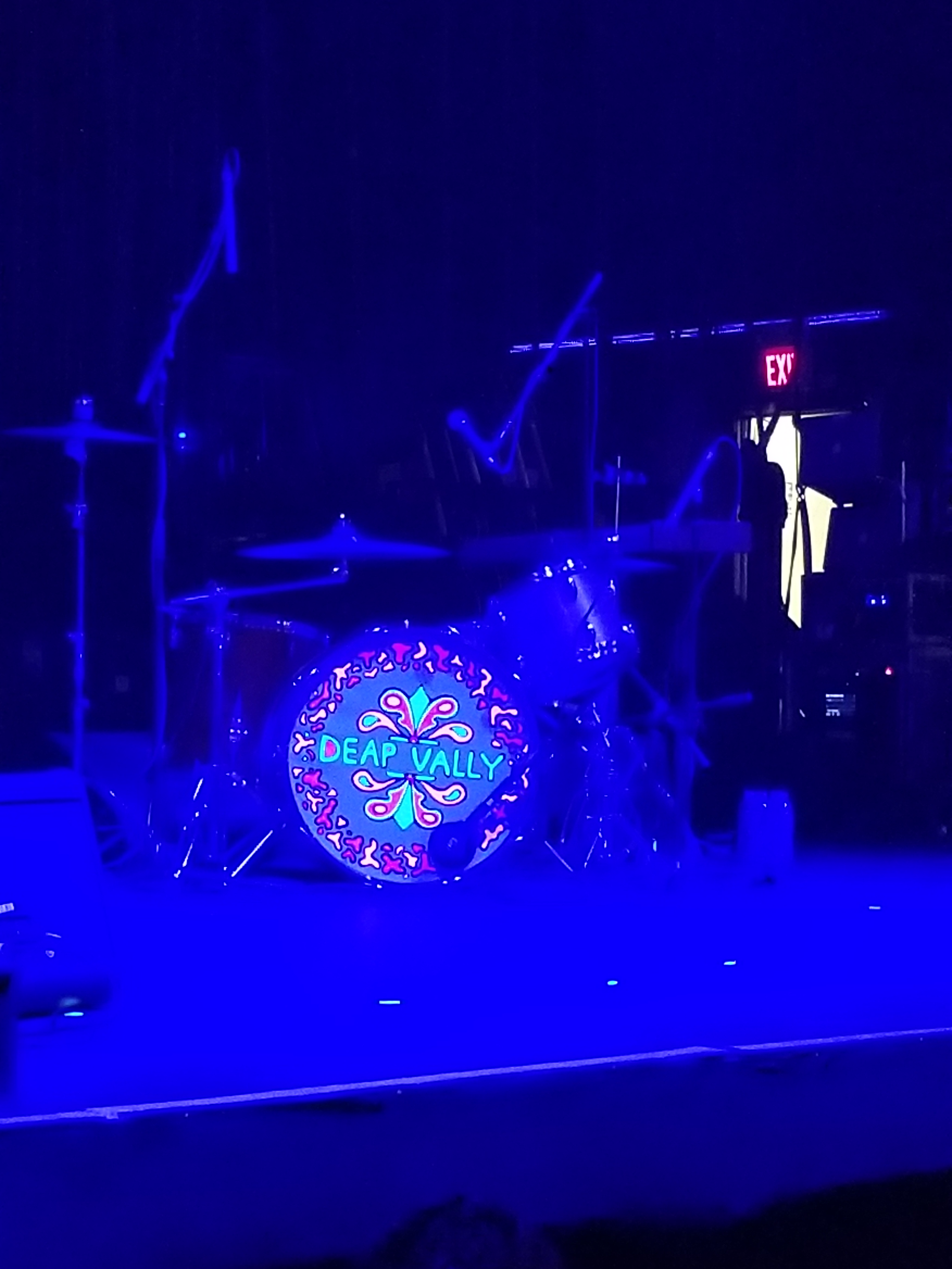 Arte Concert King Krule Deap Vally Count Basie Theater Red Bank Nj July 28 2017 I