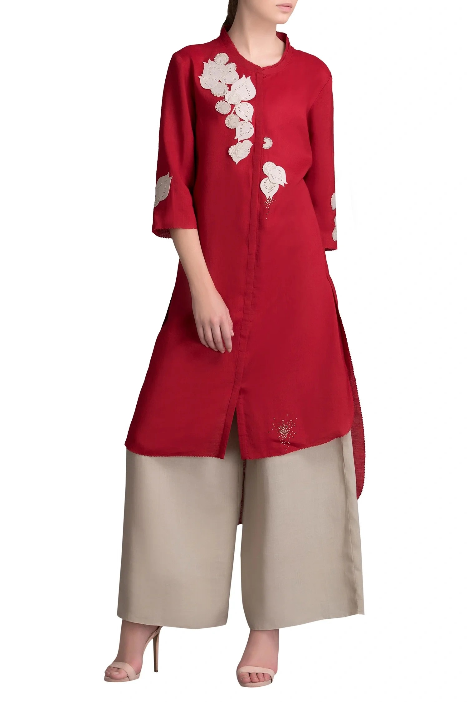 Ampm Applique Latest Collection Of Kurta Sets By Am Pm