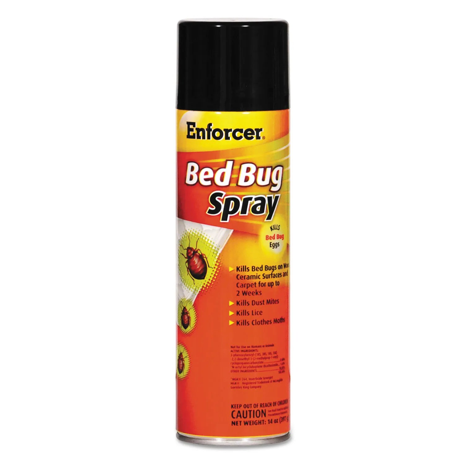 Spray To Kill Bed Bugs Bed Bug Spray 14 Oz Aerosol For Bed Bugs Dust Mites Lice Moths 12 Carton