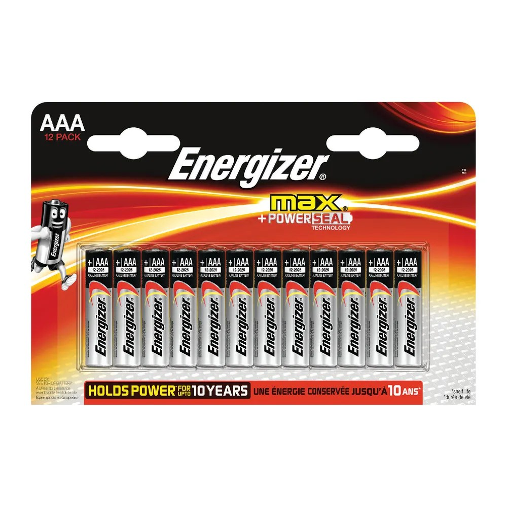 Aaa Baterien Energizer Max Aaa Batteries Pack Of 12 E300103700