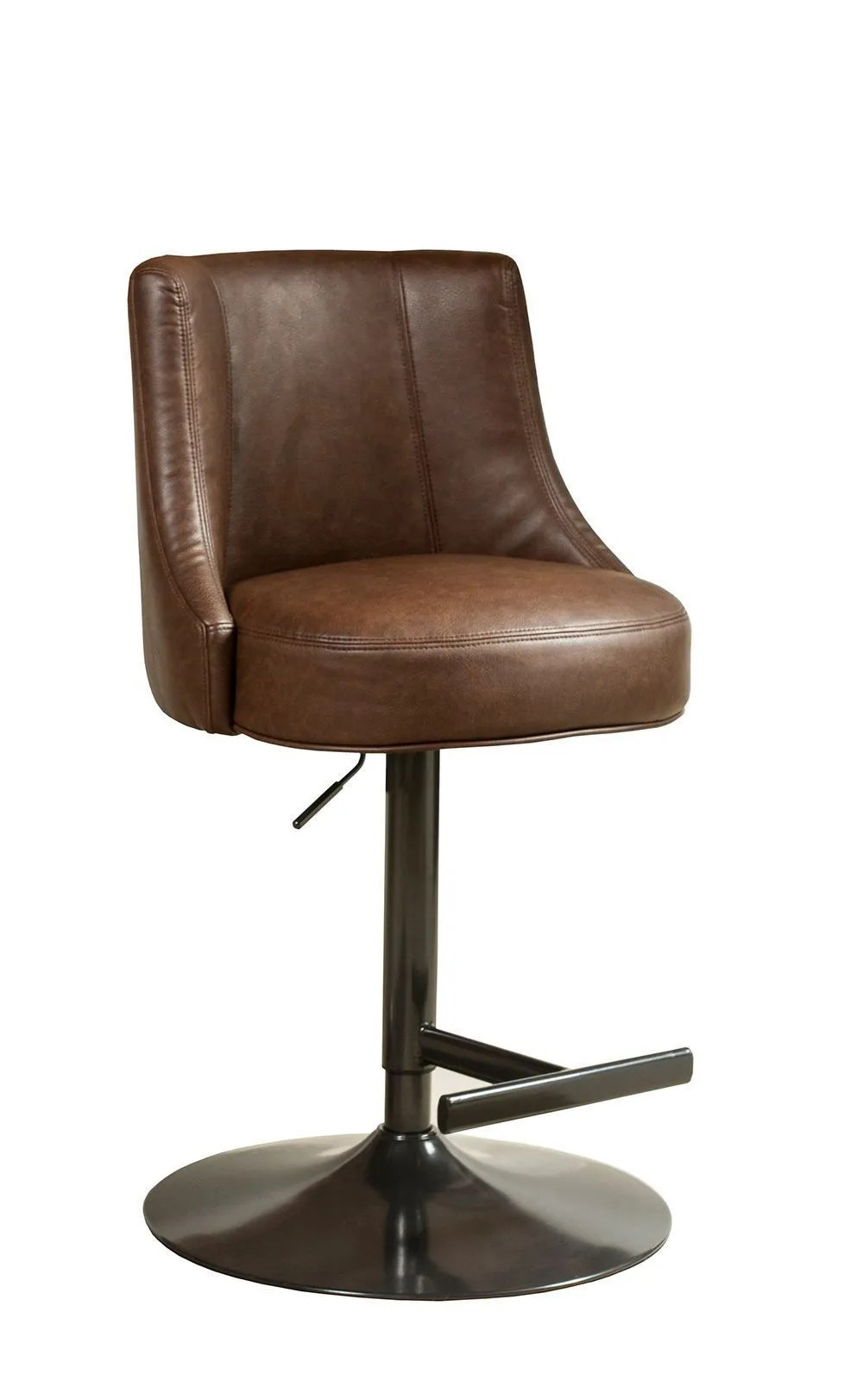 Saddle Office Chair Biscayne Saddle And Bronze Swivel Stool
