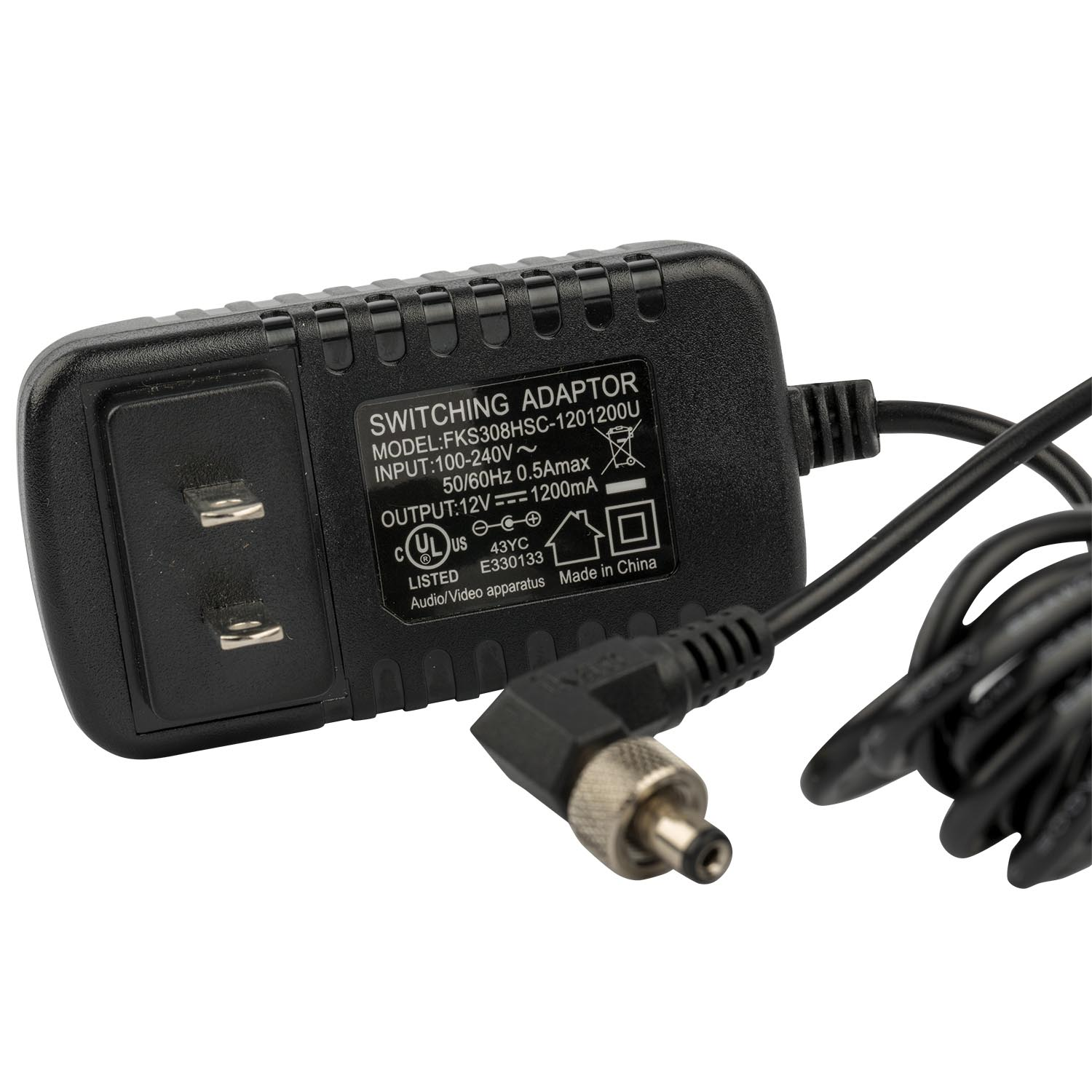 12 Volt Power Adapter 12 Volt 1 5 Amp Ac Adapter W Threaded Connector