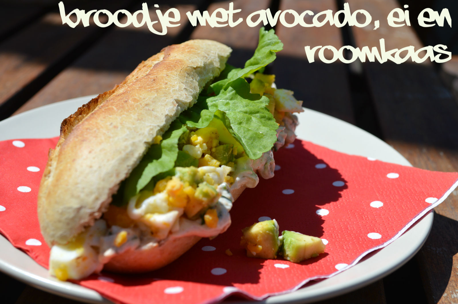 Broodje Avocado Ei Recept Broodje Met Avocado Ei En Roomkaas Ik Ben Nu