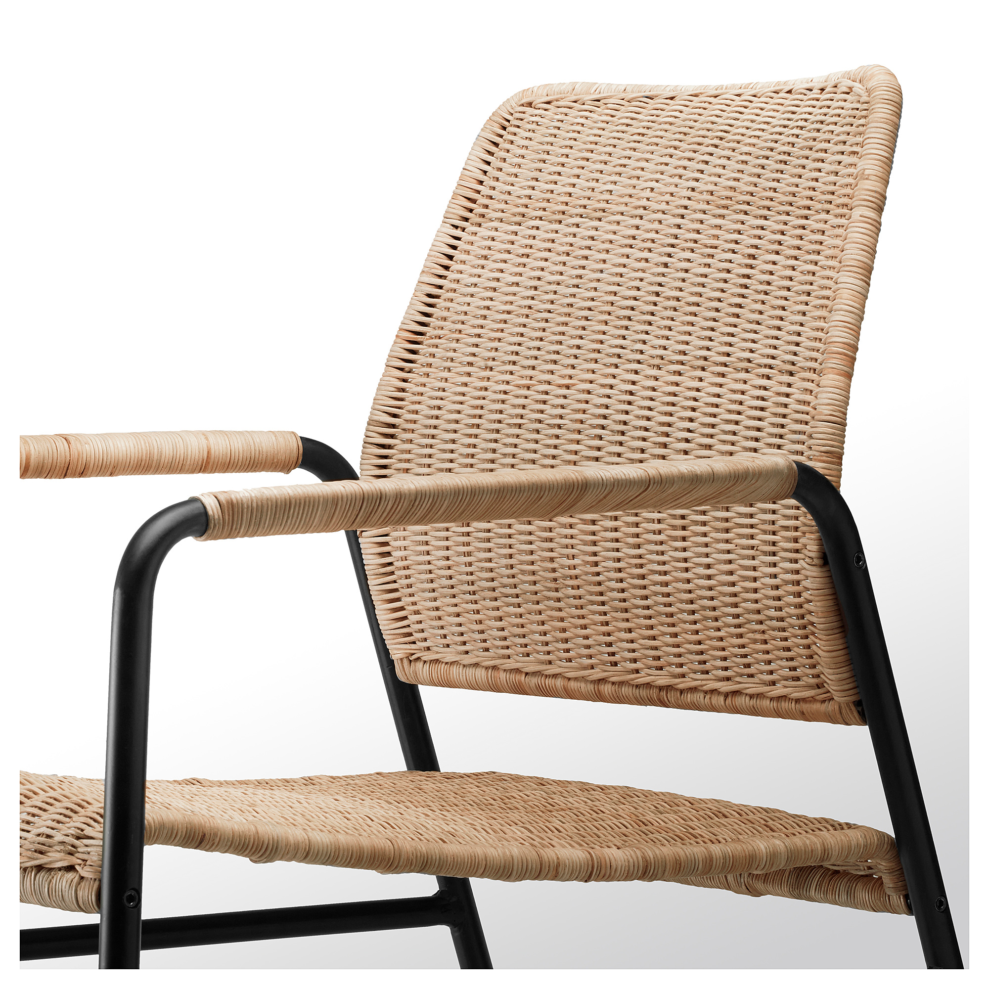 Ulriksberg Armchair Rattan Anthracite Ikea Hong Kong And Macau
