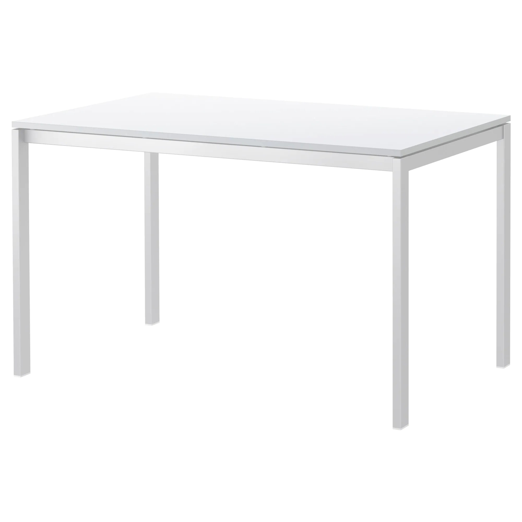 Table Metal Blanc Melltorp Table White