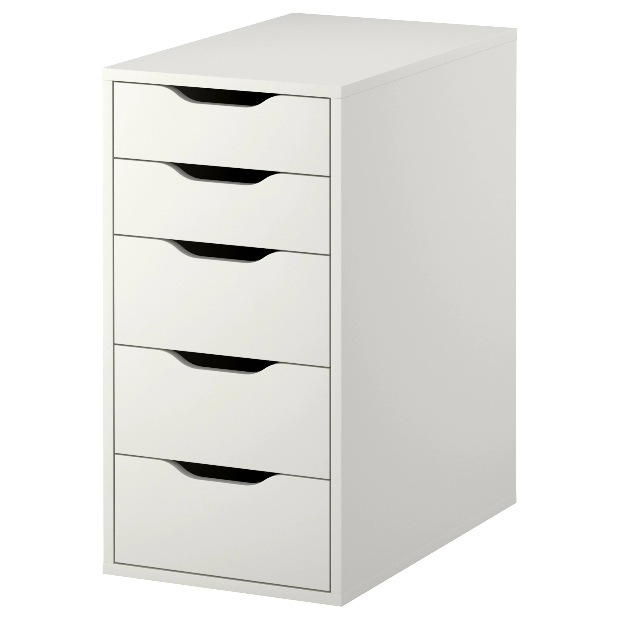 Ikea Bank Code Alex Drawer Unit White