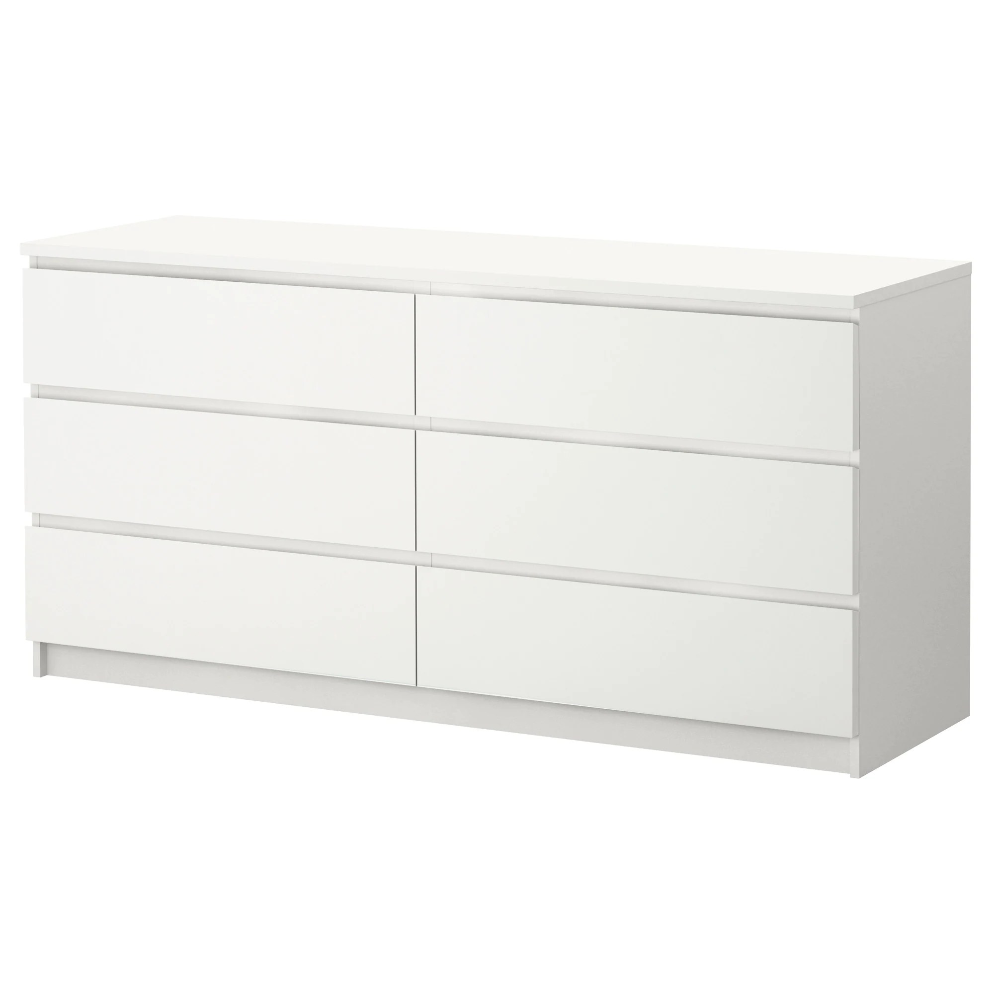 Ikea Commode Blanche Malm Commode 6 Tiroirs Blanc