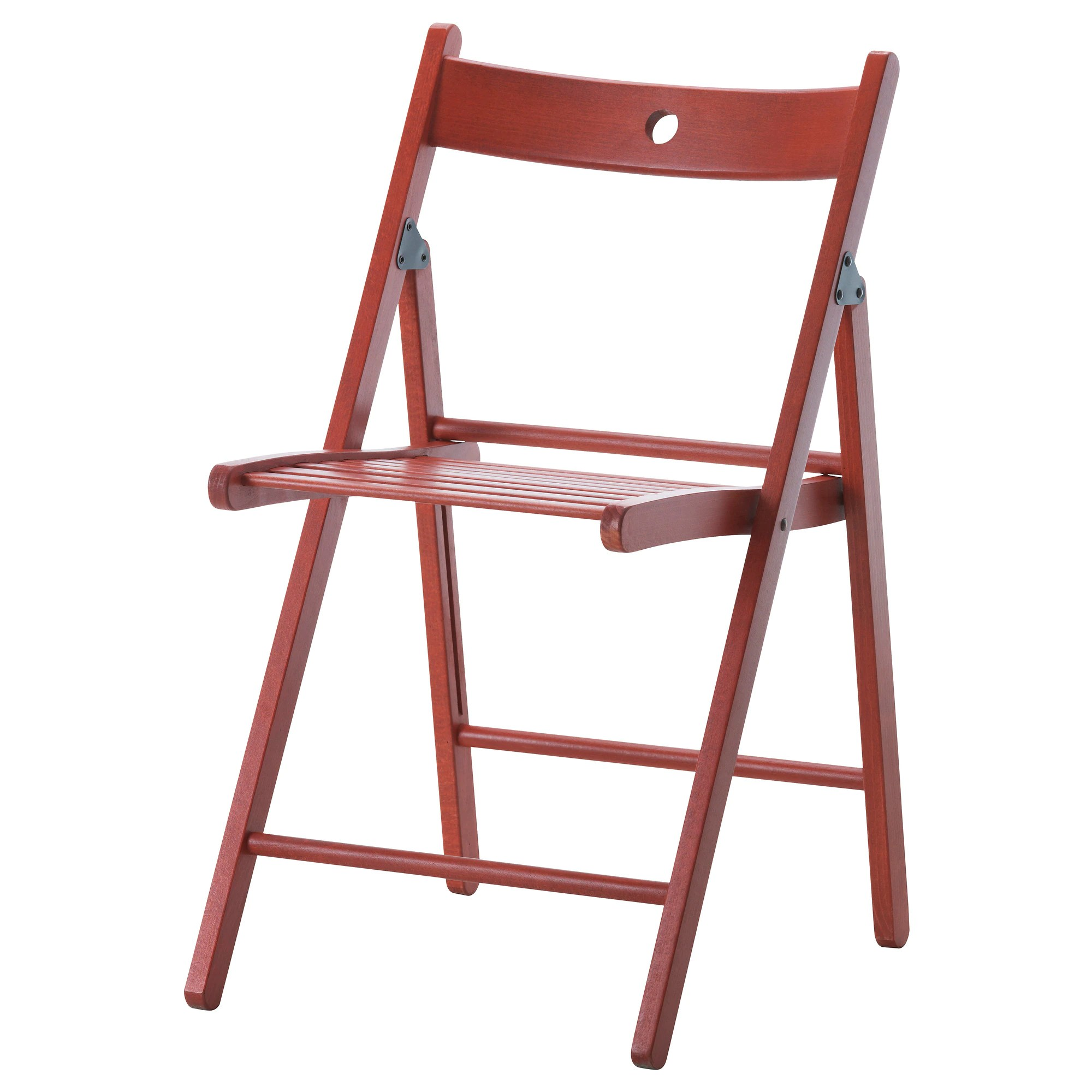 Folding Wooden Chairs Terje Folding Chair Red