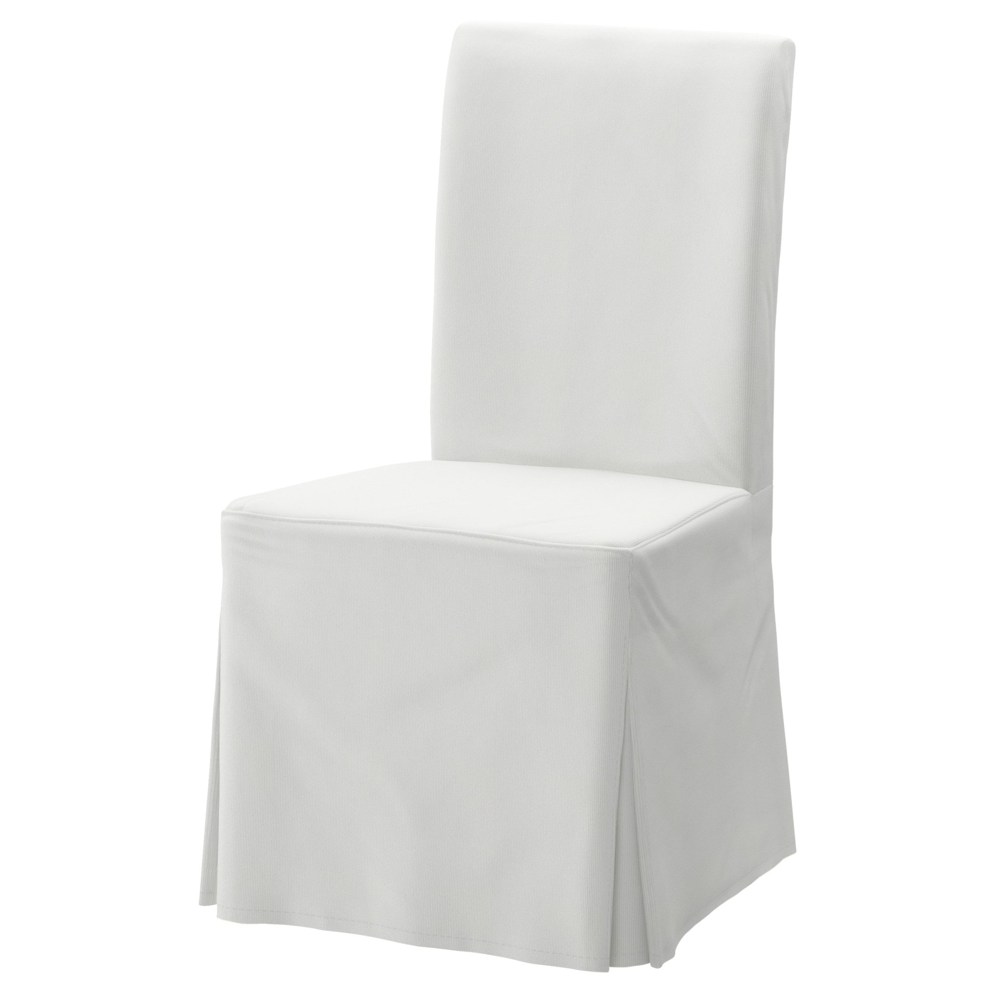 Chair Cover Henriksdal Chair Cover Long Blekinge White