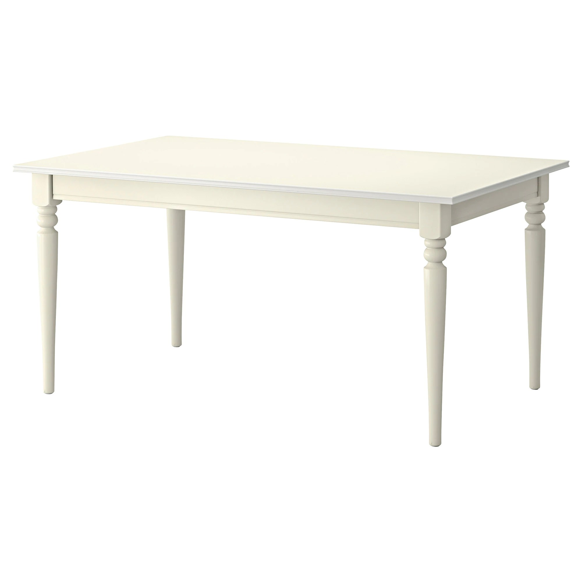 Table Ikea Blanche Ingatorp Table Extensible Blanc