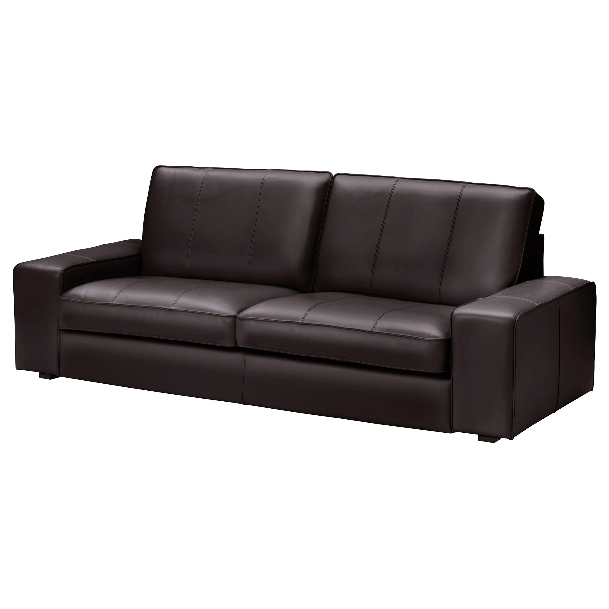 Kivik Sofa Leather Kivik Sofa Grann Bomstad Black