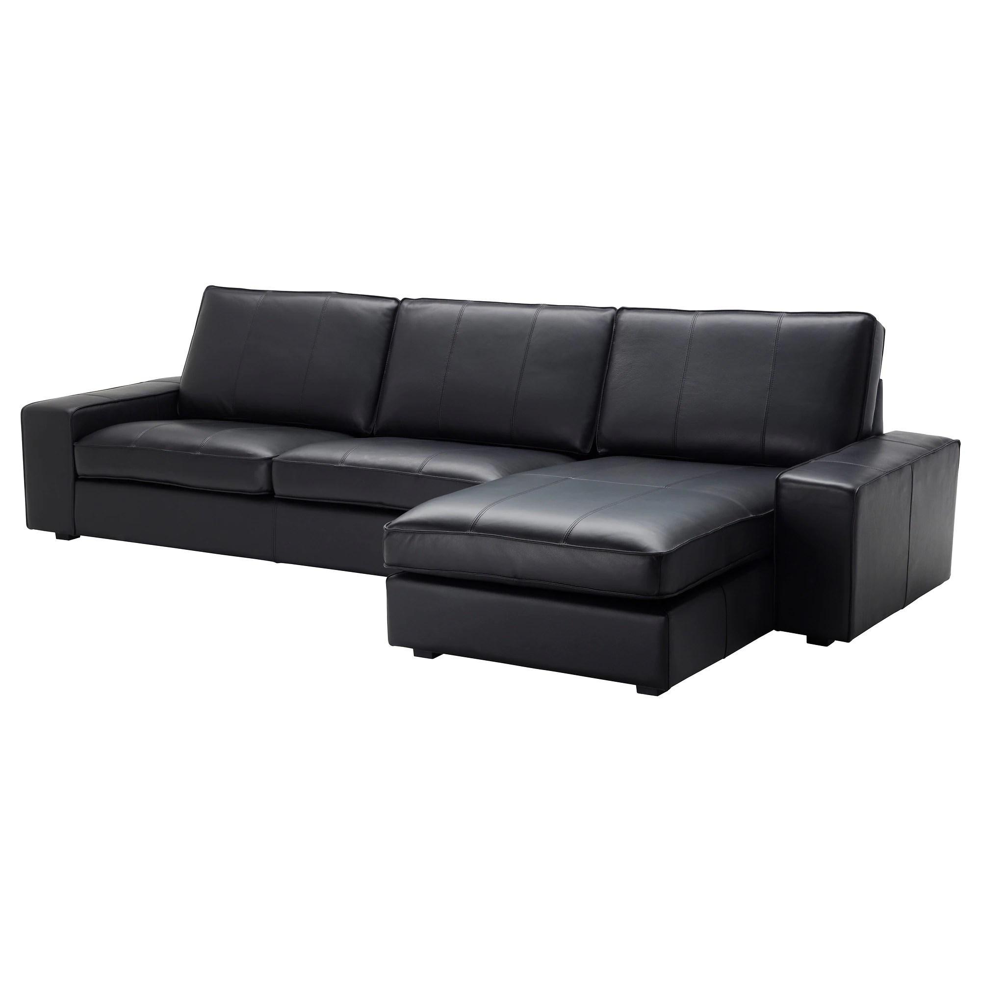Kivik Sectional Kivik Sectional 4 Seat With Chaise Grann Bomstad Grann Bomstad Dark Brown