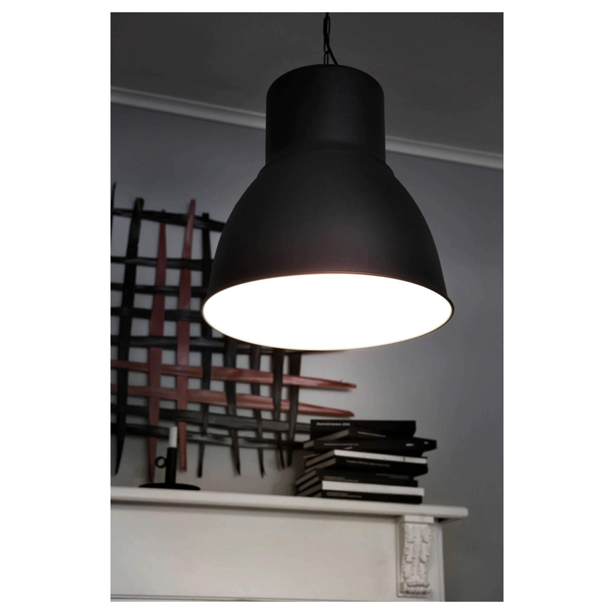 Led Hanglamp Ikea Hektar Pendant Lamp Dark Gray