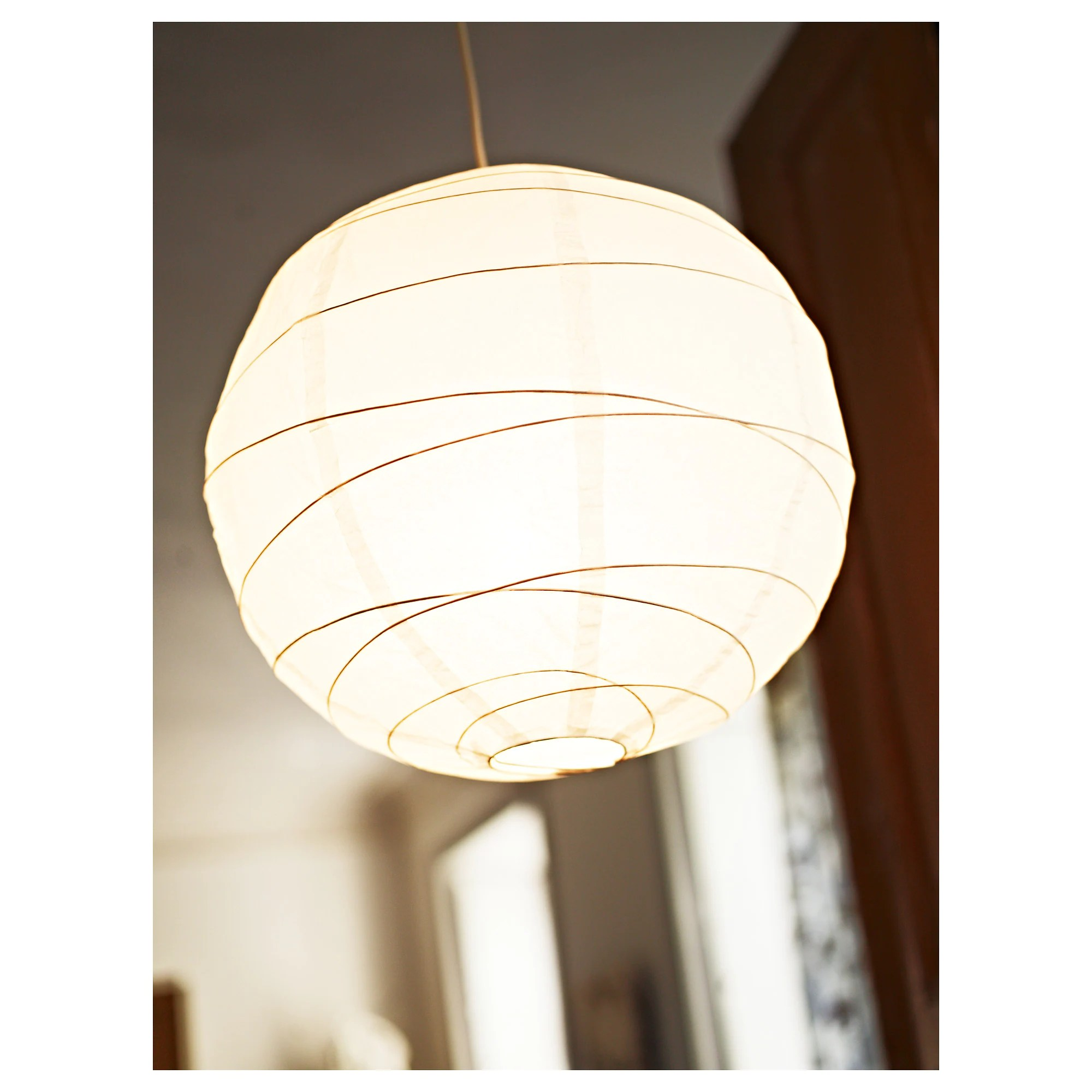 Paper Light Shades Regolit Pendant Lamp Shade White