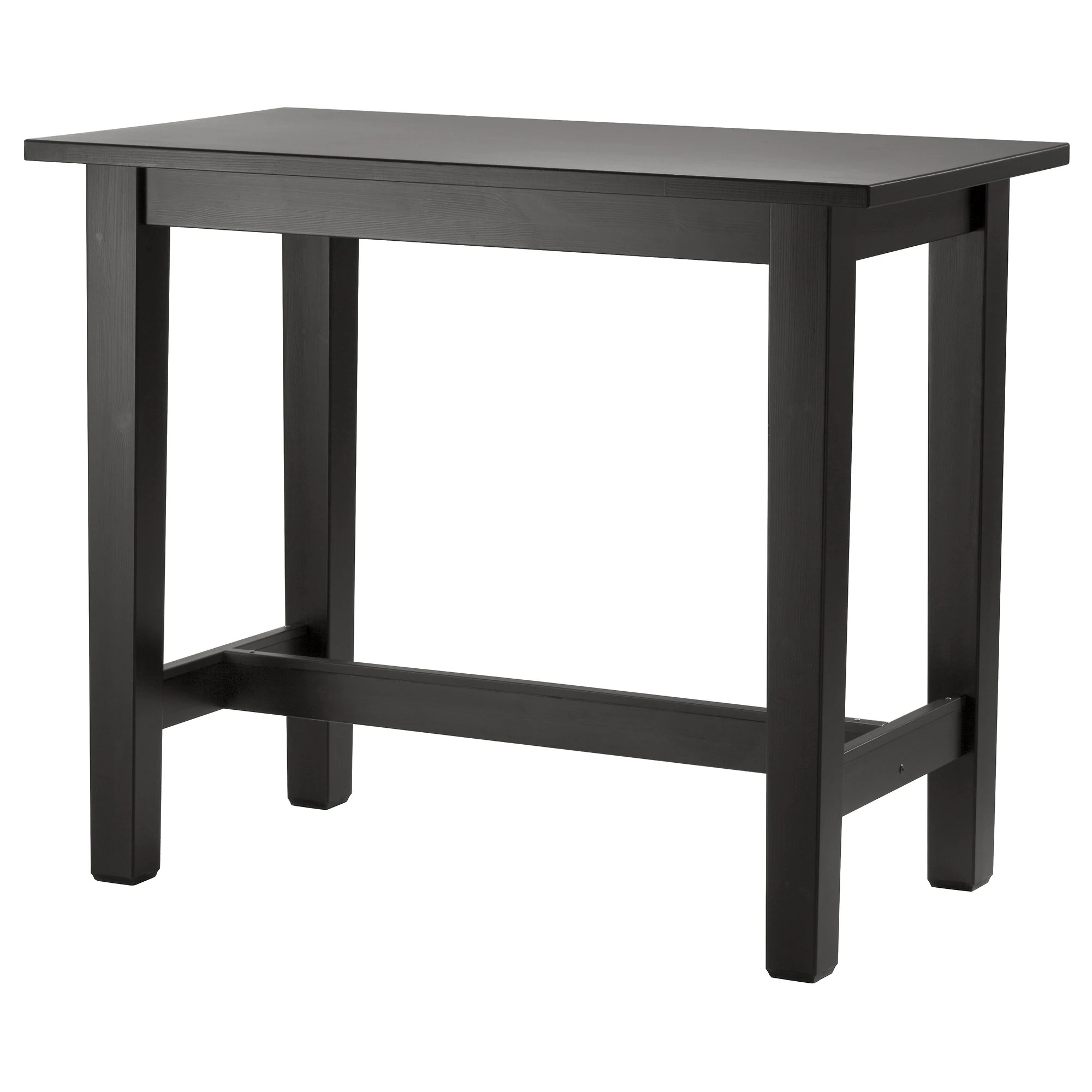Ikea Breakfast Bar StornÄs Bar Table Brown Black