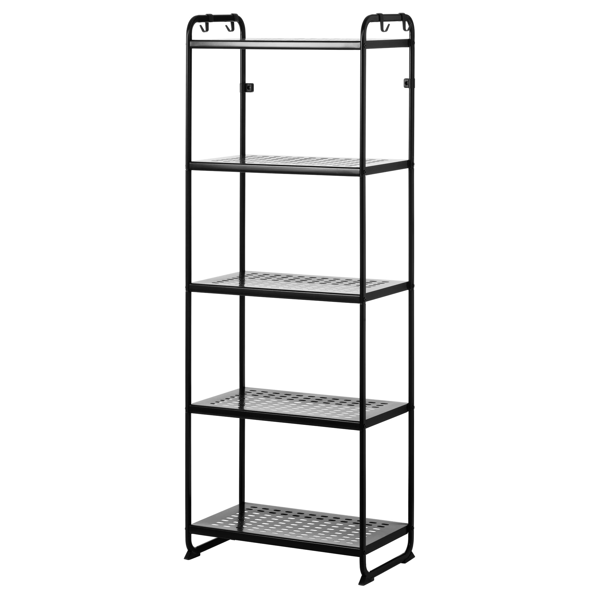 Metal Shelving Mulig Shelf Unit Black