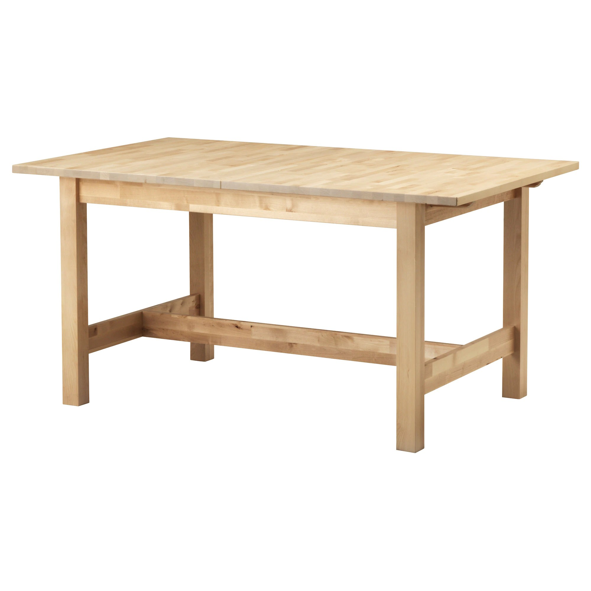 Ikea Dining Table Norden Extendable Table Birch