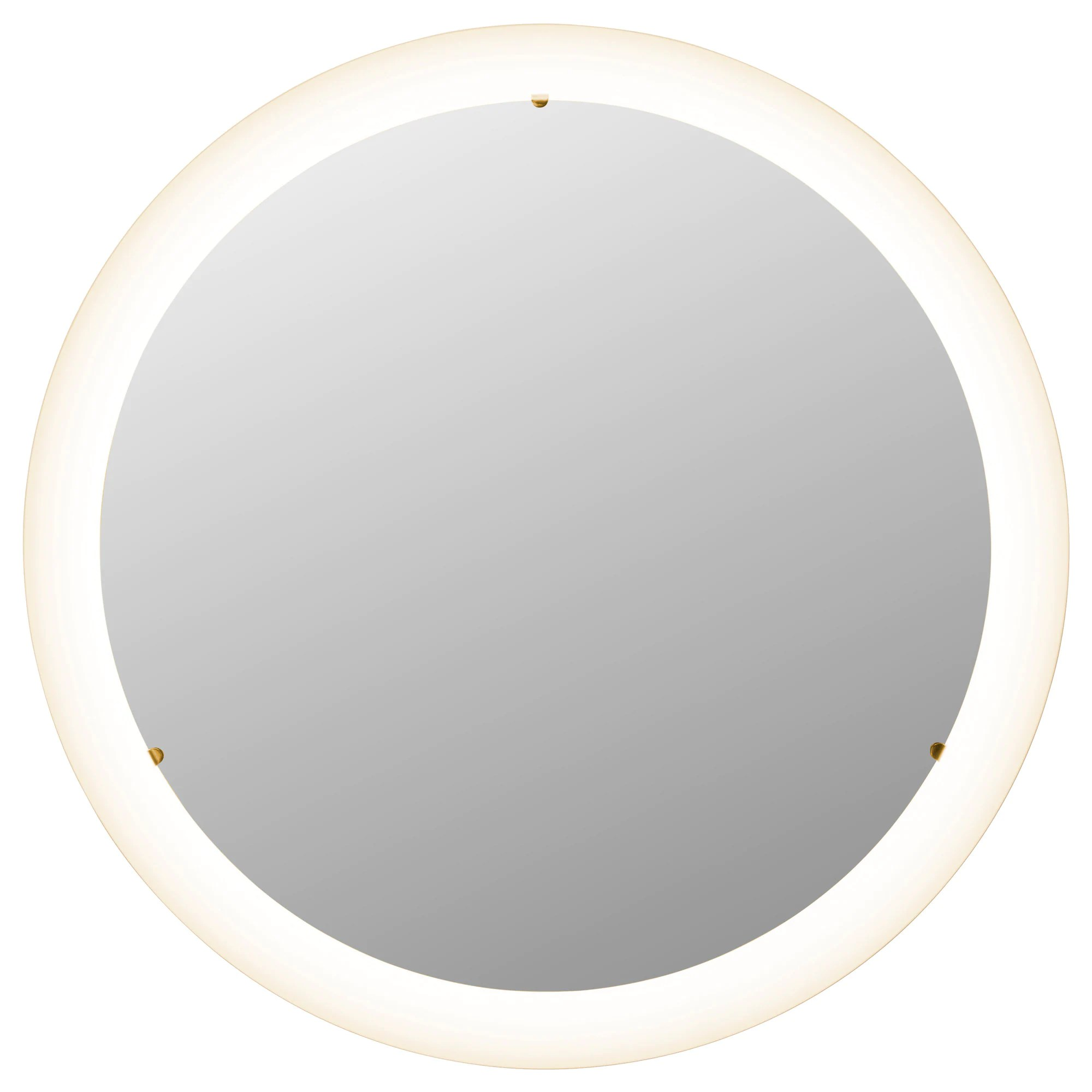 Miroir Rond Ikea Storjorm Mirror With Built In Light White
