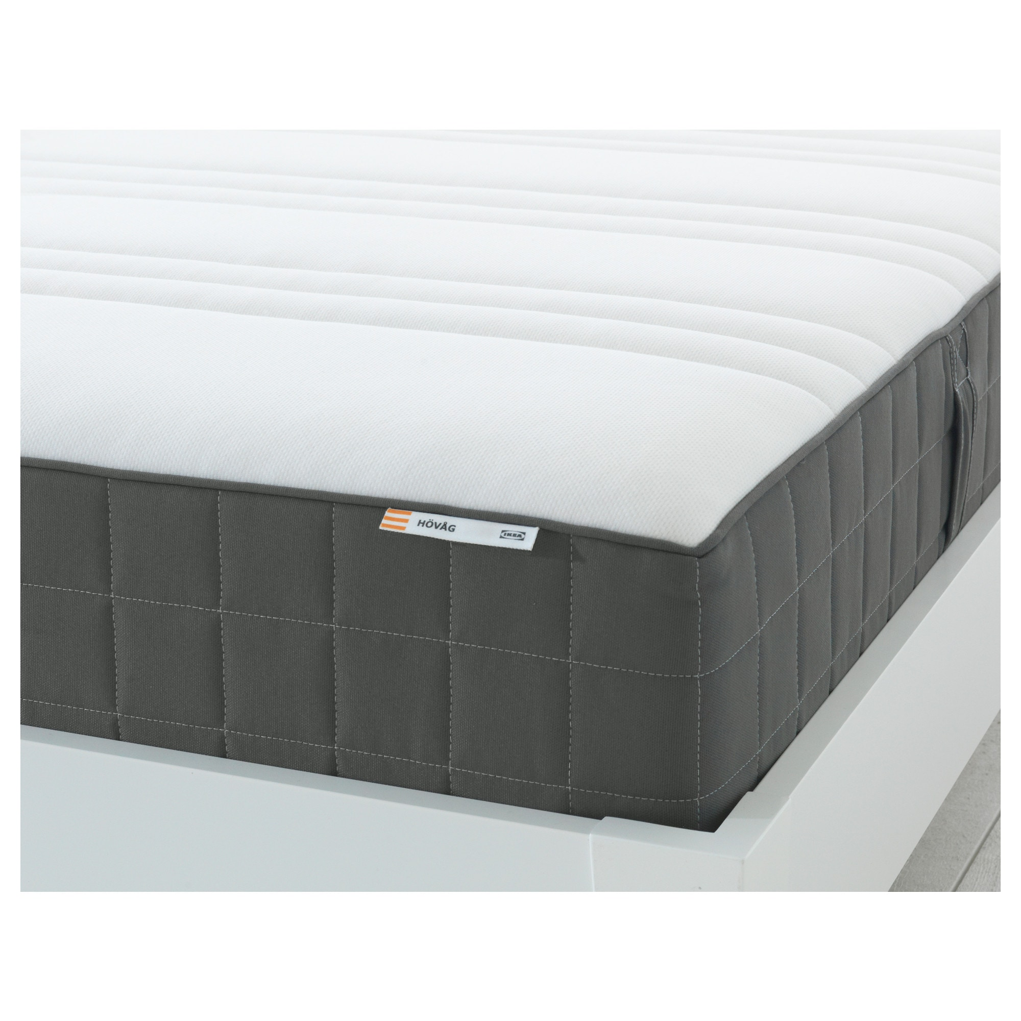 Hovag Mattress HÖvÅg Pocket Sprung Mattress Medium Firm Dark Grey