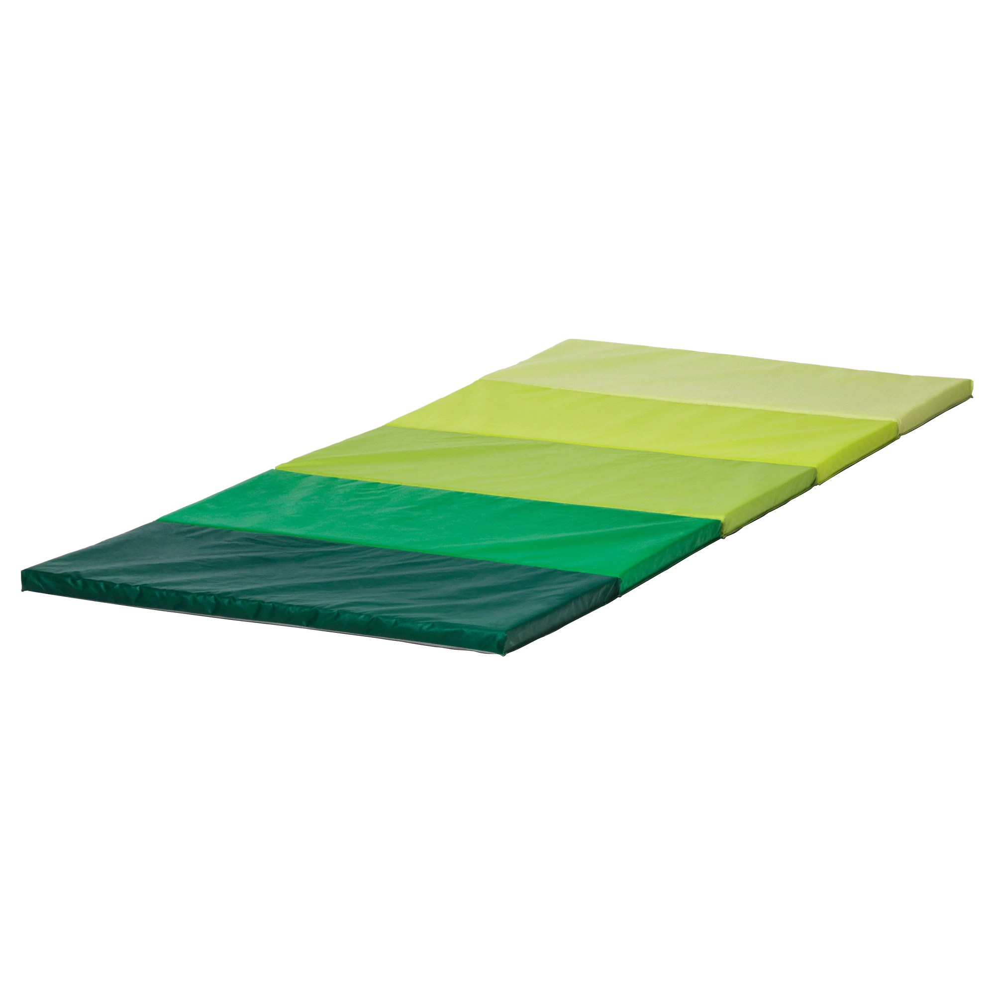Children's Floor Rugs Plufsig Folding Gym Mat Green