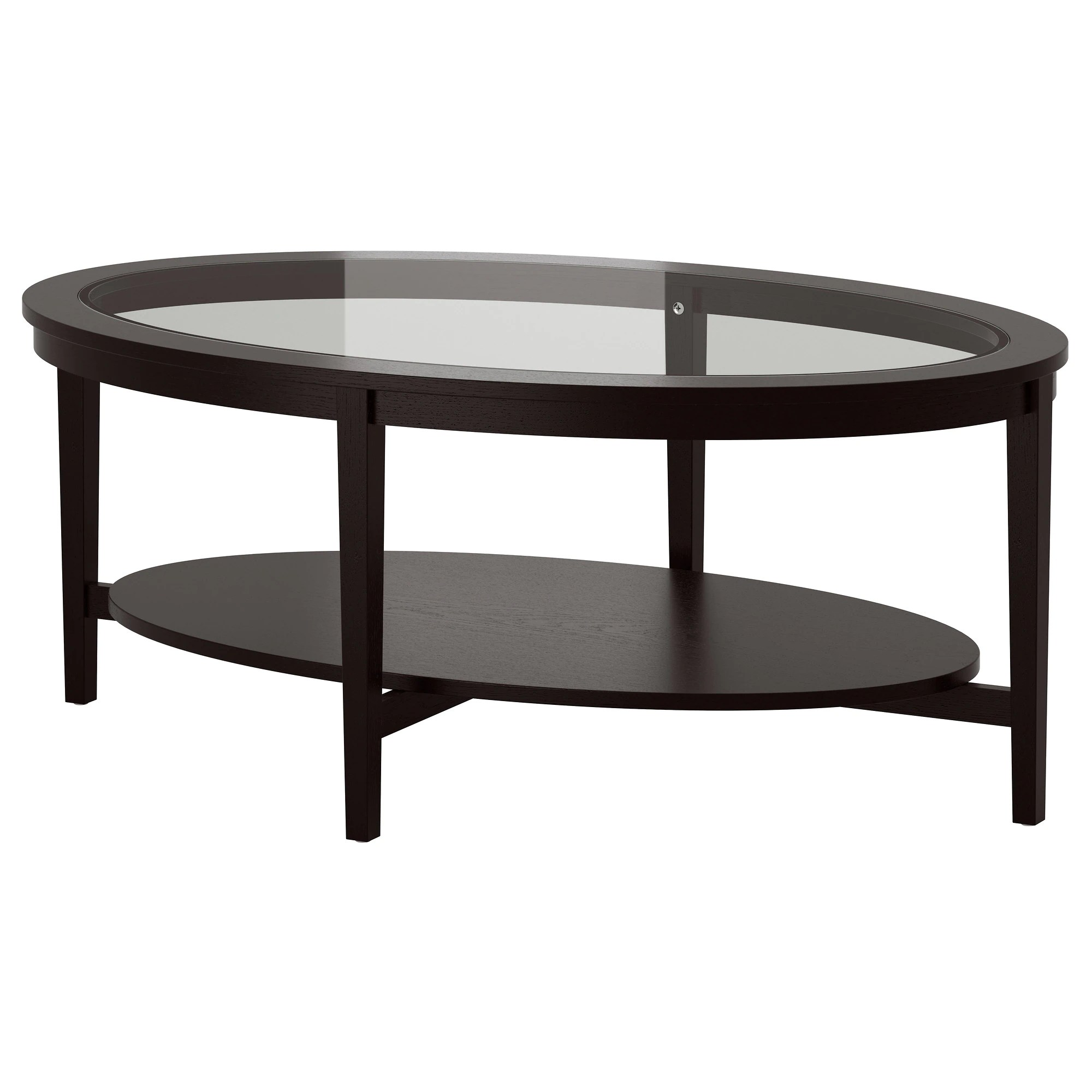 Kallax Couchtisch Coffee Table Malmsta Black Brown