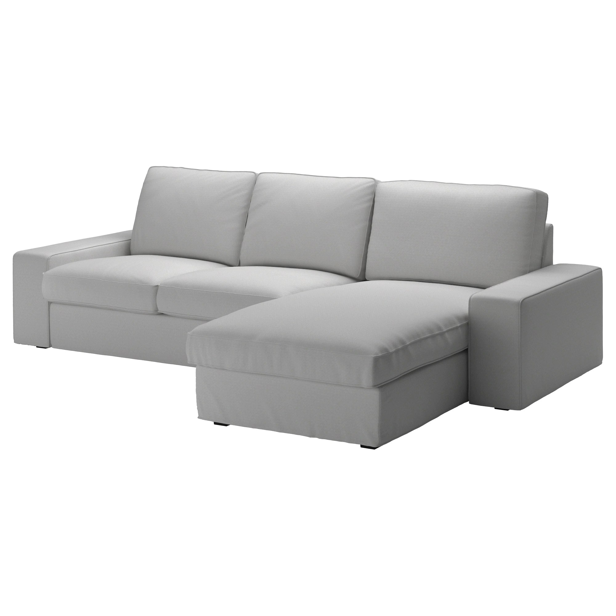 Ikea Kivik Sofa Kivik Sofa Orrsta With Chaise Orrsta Light Gray