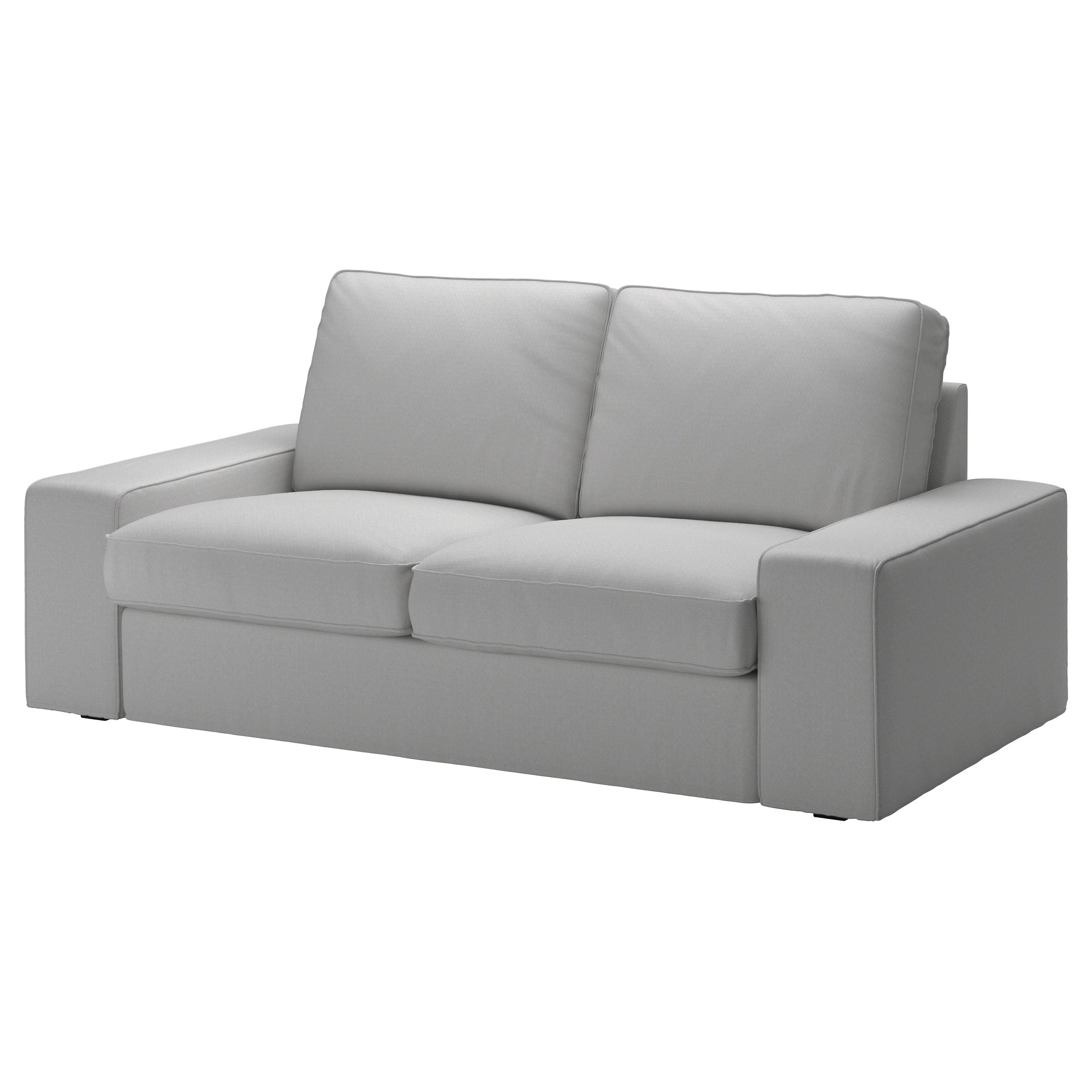 Loveseat Ikea Kivik Loveseat Orrsta Light Gray