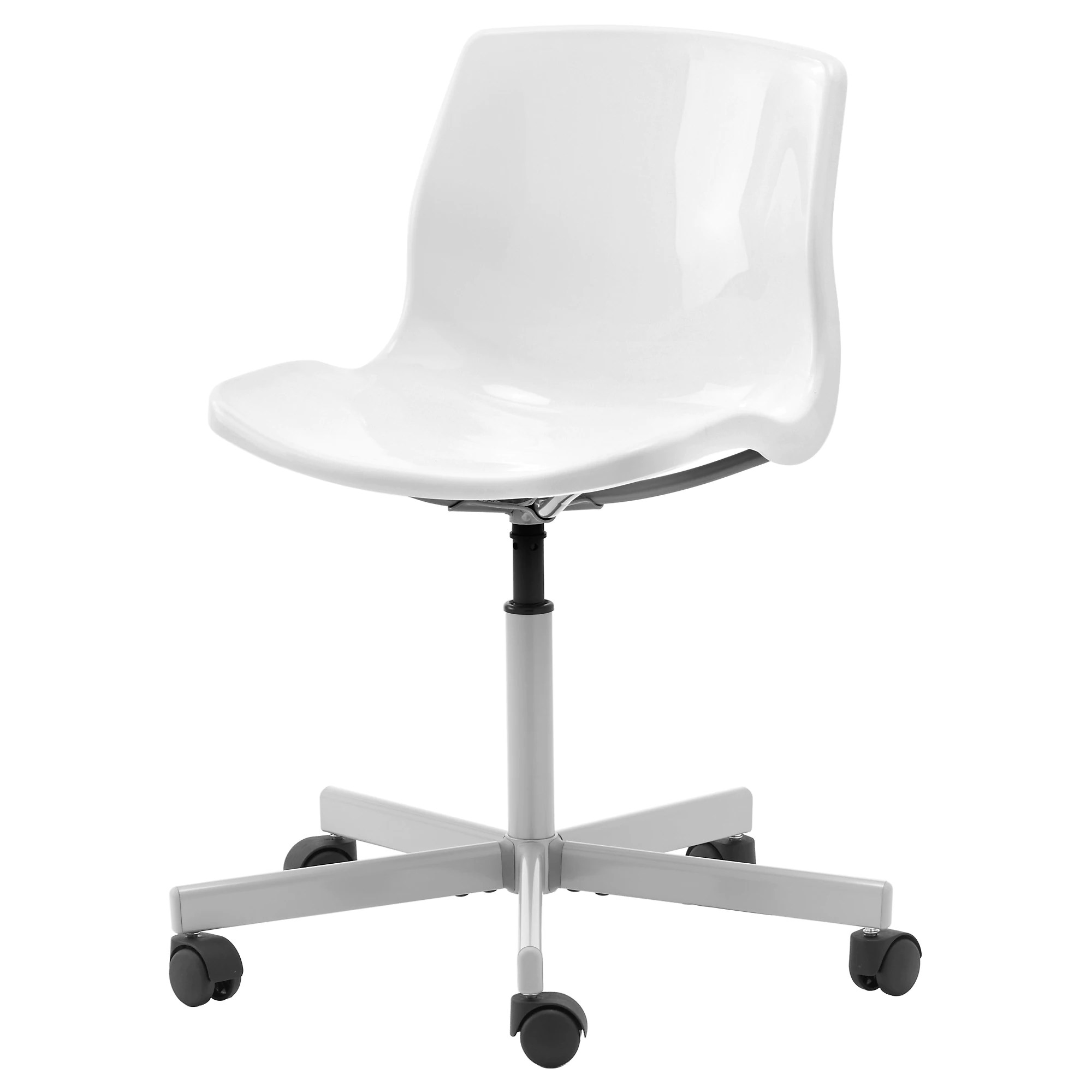 Neon Ikea Snille Swivel Chair White