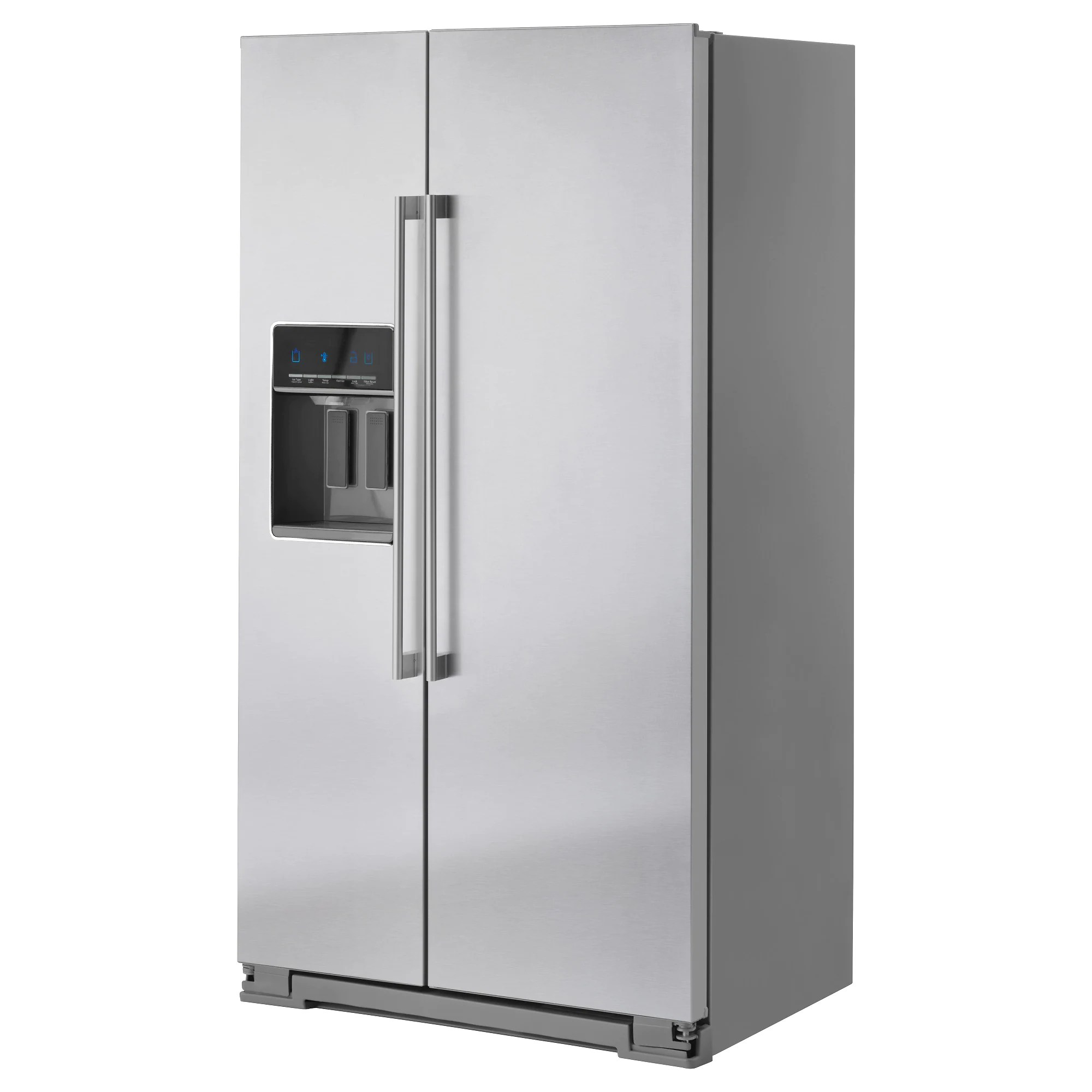 14 Cu Ft Refrigerator Nutid Side By Side Refrigerator Stainless Steel