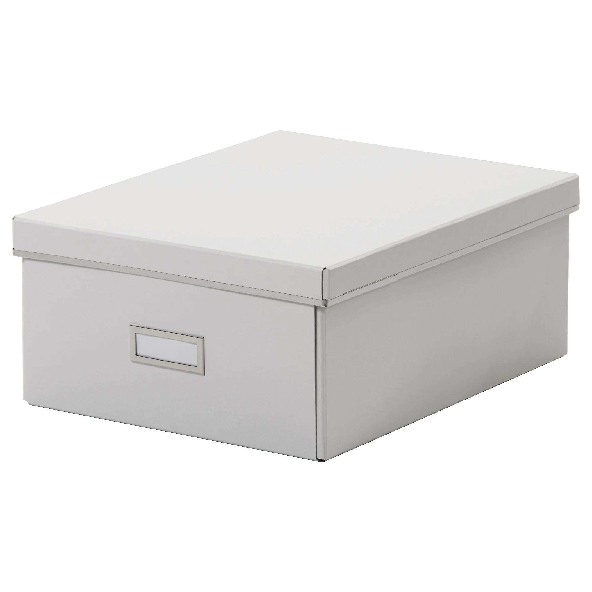 Ikea Box Holder SmÅrassel Box With Lid White
