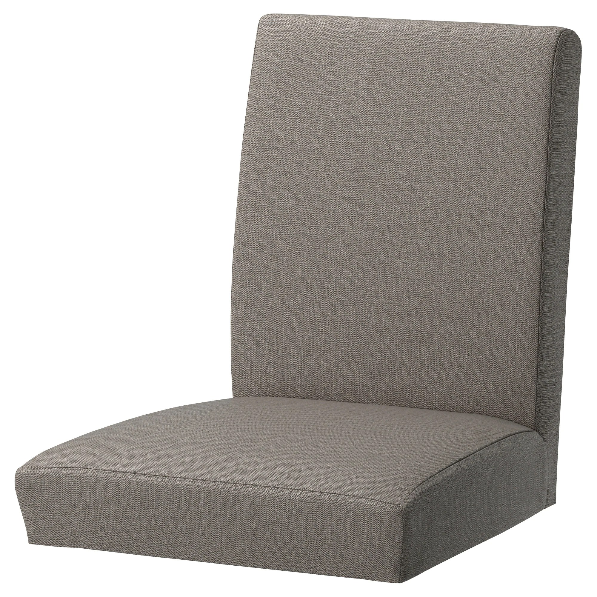 Chair Cover Henriksdal Chair Cover Nolhaga Gray Beige