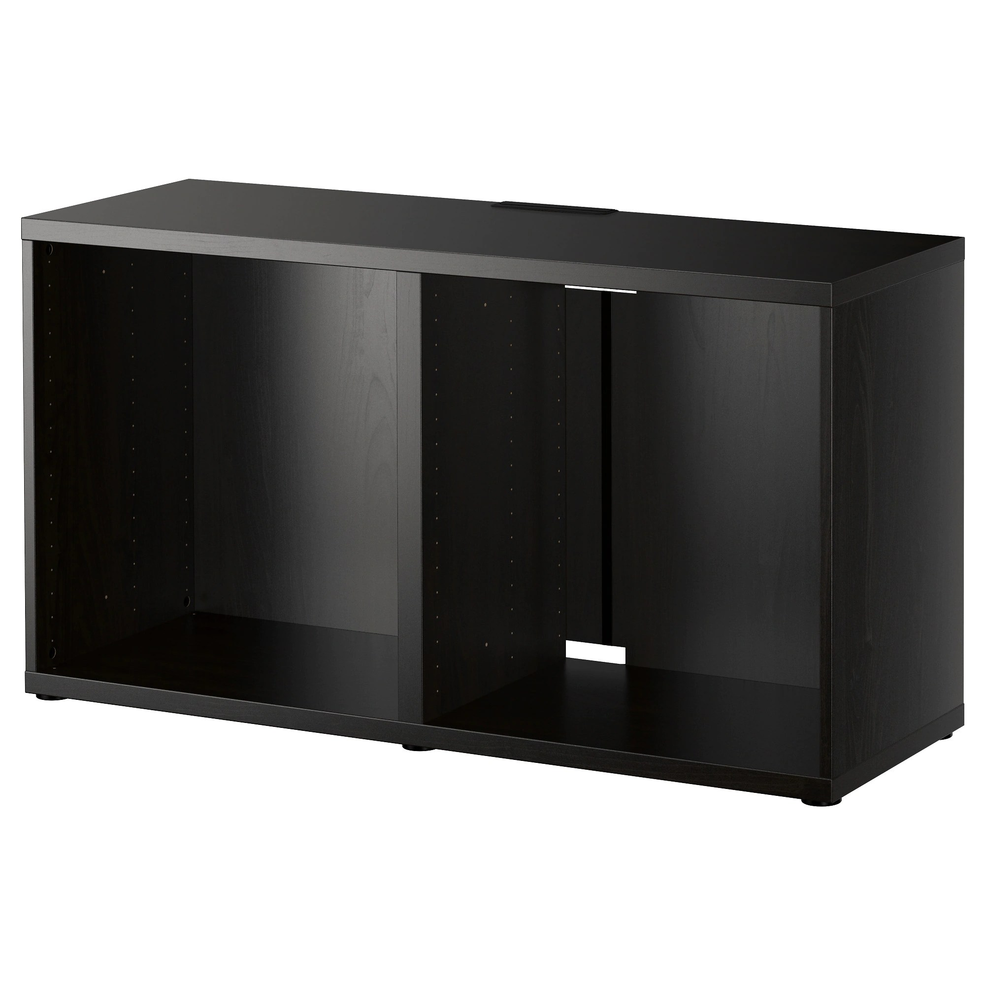 Ikea Kast Besta BestÅ Tv Unit Black Brown